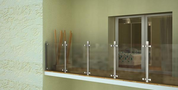 Proglass professional glass productos - Herrajes acero inoxidable para vidrio ...